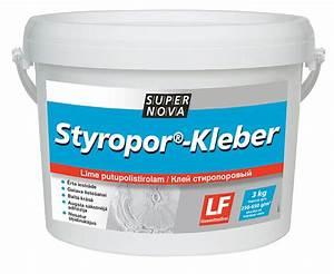 Kleber Für Styropor : styropor kleber supernova ~ Frokenaadalensverden.com Haus und Dekorationen