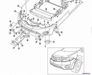 I Need To Know How To Safely Take Apart The Front Bumper Of Nissan Murano 2010 S 2wd To Install