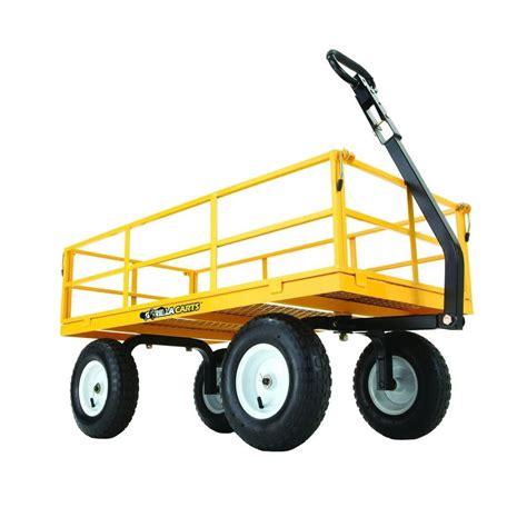depot wagon sandusky 3 5 cu ft 21 in w steel folding wagon fbw3621 Home