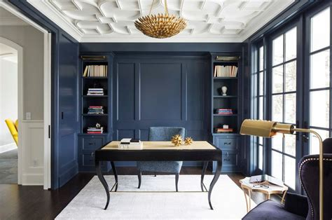 wall paint hale navy benjamin transitional home