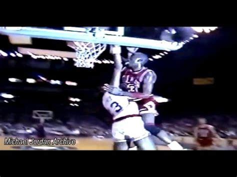 Michael Jordan  Legendary Dunk On Charles Jones! (bulls