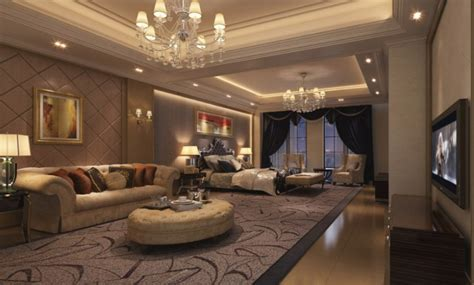 luxury apartments room interior design rendering 3d house