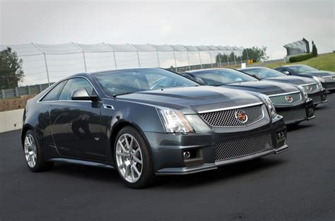 2011 cadillac cts v coupe gm authority