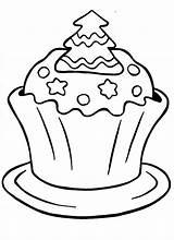 Cupcake Coloring Cupcakes Printable Sprinkles Unicorn Cartoon Icolor Tree Drawing Adults Popular sketch template