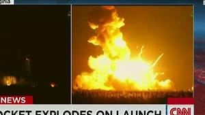 Unmanned NASA-contracted rocket explodes - CNN