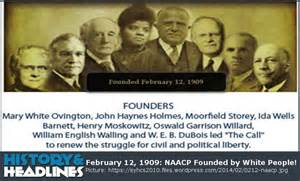 NAACP Founders Were White