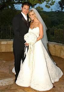 jessica simpson stars who wore vera wang wedding gowns With jessica simpson wedding dress