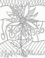 Coloring Cool Pages Adults sketch template