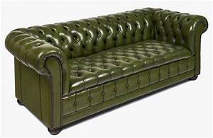 vintage leather chesterfield sofa at 1stdibs With chesterfield leather sofa