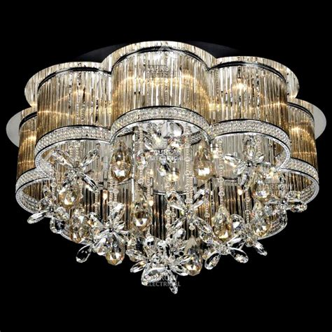 decorative light bulbs for chandeliers decorative 24 light ceiling crystal chandelier in amber