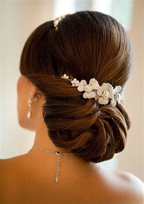 ideas  elegant wedding hairstyles  pinterest
