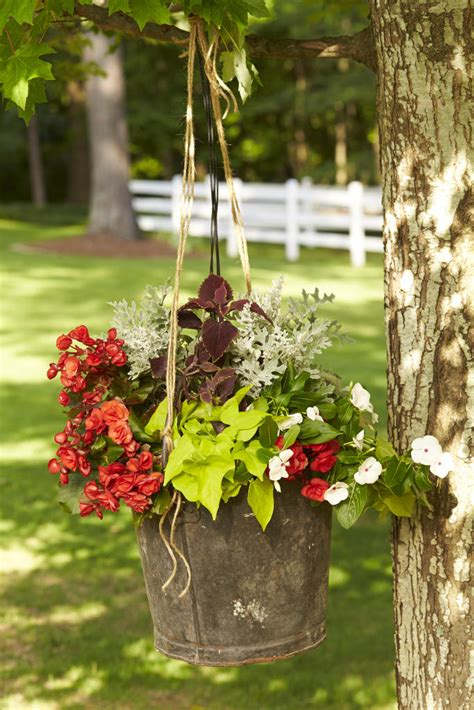 hanging garden baskets southern living