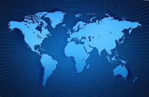 Maps: World Map Background
