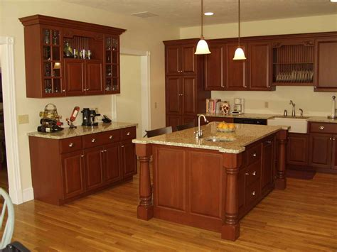 Cherry Cabinets Roselawnlutheran The Best Color For And