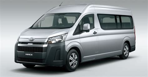 Toyota Hiace 2019 by 2019 Toyota Hiace Debuts With New Engines Safety Kit