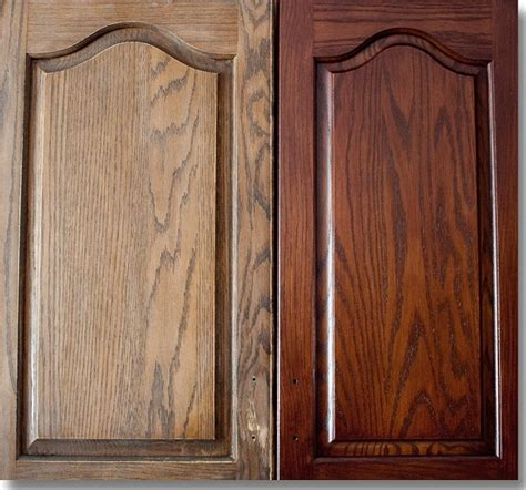 Restaining Kitchen Cabinets Before And After by Restaining Cabinets For Kitchen Ayanahouse