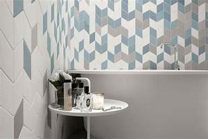 idees d39amenagement et eclairage plafond d39un apprtement With carrelage adhesif salle de bain avec suspension led salon
