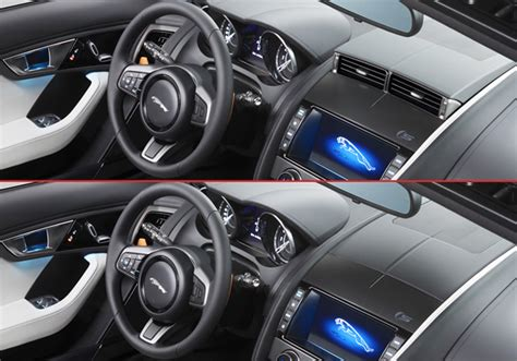 Jaguar F-type's Retractable Hvac Vents