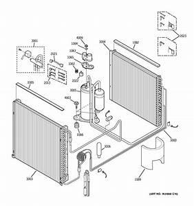 Ge Az75h12eacm1 Heating  U0026 Cooling Combined Unit Parts