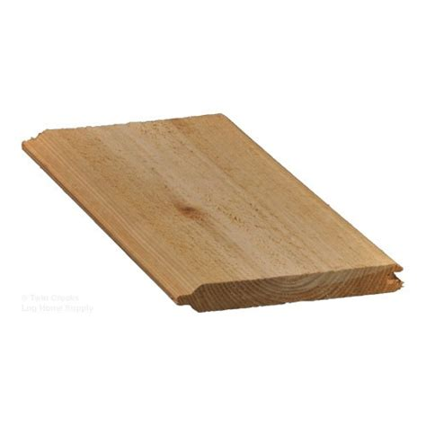 1x6 Western Red Cedar Tongue And Groove Boards