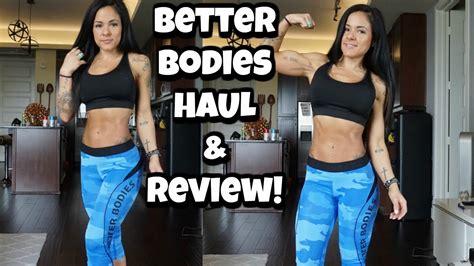 Better Bodies Leggings Review & Try On! Youtube