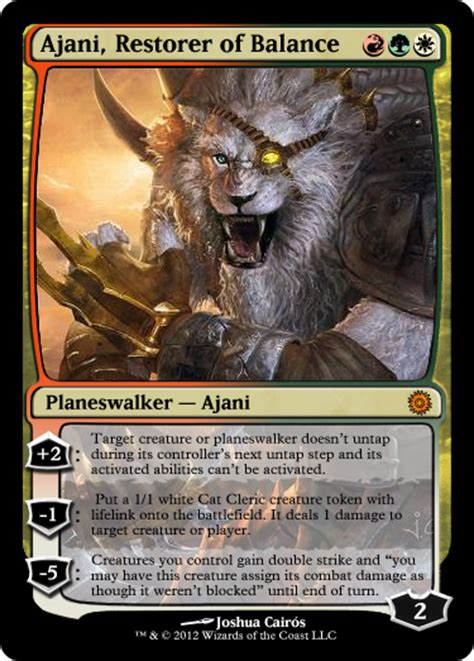 ajani mentor of heroes deck ideas magic the gathering deck builder and spoiler ajani in