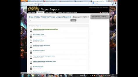 Jak Usunąć Konto W League Of Legends