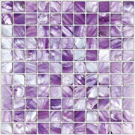 purple kitchen tiles sea shell mosaic of pearl tile kitchen 1689