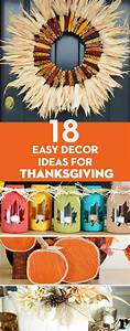 20, Easy, Thanksgiving, Decor, Ideas, To, Get, Your, Home, In, The