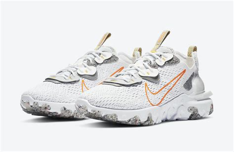 Retrouvez notre review de la nike d/ms/x react vision 'desert oasis' light bone terra blush blue, une version multicolore pour. Nike React Vision Laser Orange DA4679-100 Release Date ...