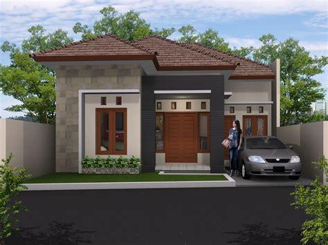 gambar desain rumah minimalis atap limas yang paling baru