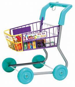 Amazon.com: Toy Grocery Shopping Cart Trolley- Includes ...