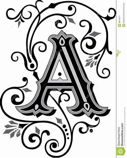 Letter Ornate Ornament Alphabets English Letters Alphabet