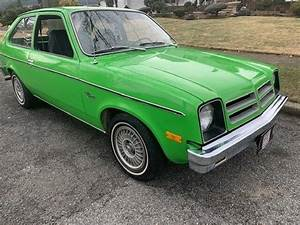 1976 Chevette  5830 Miles  2 Door Hard Top  4 Speed Manual