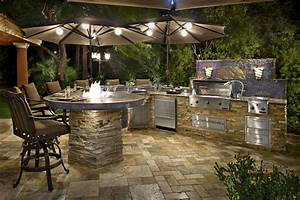 Custom semi custom outdoor kitchens galaxy outdoor for Bbq outdoor kitchen