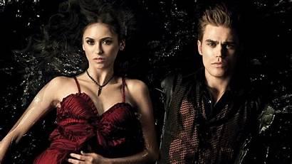 Vampire Diaries Elena Wallpapers Damon Desktop Female