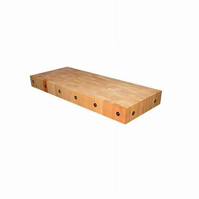 Nella Butchers Maple Block Wood 4ft Butcher