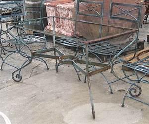 salon de jardin en fer forge meilleur de table de jardin With table salon fer forge