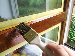 peindre fenetre bois pvc reussir la peinture de vos With peindre fenetre bois interieur