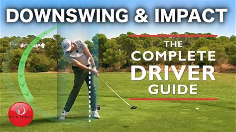 DRIVER DOWNSWING & IMPACT - THE COMPLETE DRIVER GOLF SWING ...