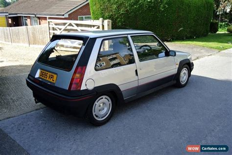 renault turbo for sale 1986 renault 5 gt turbo for sale in united kingdom