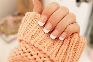 nails french manicure | Tumblr