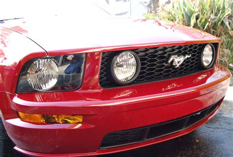 mustang v6 with gt grille fog light wiring syst 05 09 ebay