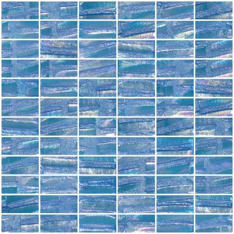 glass tile   atmospheric blue textured recycled
