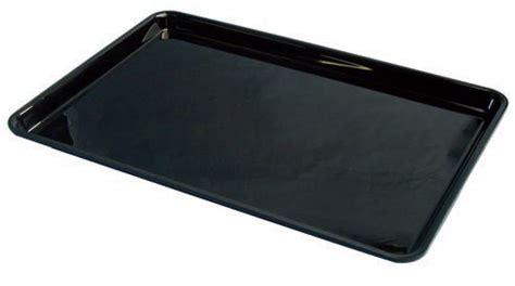 plateau de cuisine plateau cuisine plexi noir rectangulaire p 280 mm stl