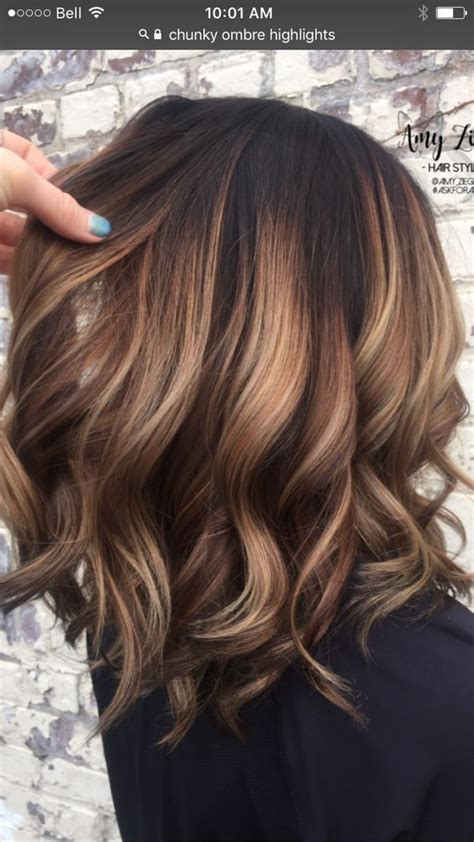 Brown Color Hairstyles by 81 Brown Ombre Hair Color Hairstyles Hair
