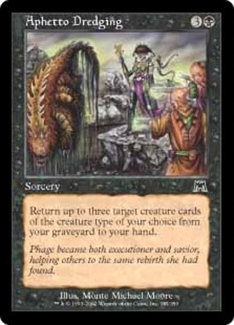 Mtg Dredge Deck 2015 by Aphetto Dredging Onslaught Gatherer Magic The Gathering