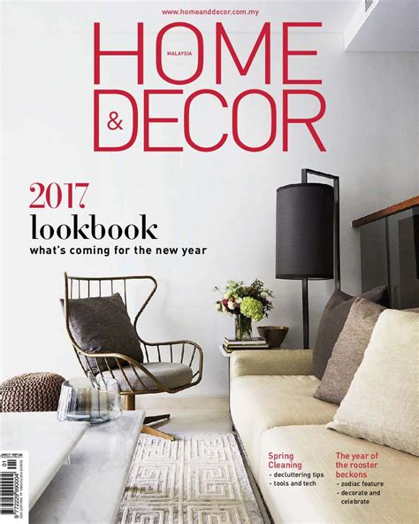 home and decor magazine home decor malaysia magazine january 2017 gramedia digital