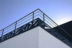 Garde Corps Terrasse Aluminium : garde corps m tal pour terrasse ext rieure vend e escaliers ~ Melissatoandfro.com Idées de Décoration