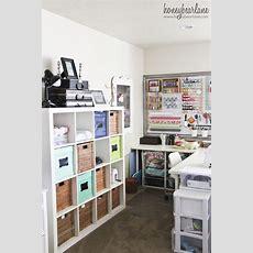 Craft Studio Tour Honeybear Lane  Craft Storage Ideas